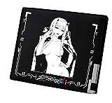 Cosstars Darling in The FRANXX Anime Cartera Hombre Cuero Artificial Billetera Portatarjetas Slim Wallet Negro /2