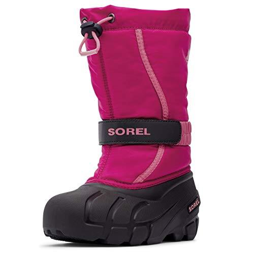 Sorel Children's Flurry Boot - Waterproof - Deep Blush - Size 12