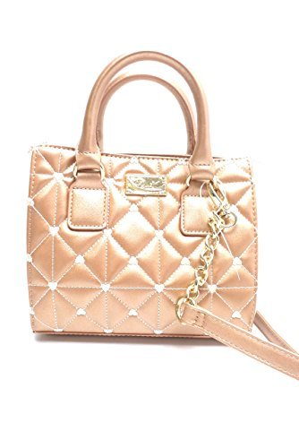 Luv Betsey Rose Gold Mini Satchel #rosegold