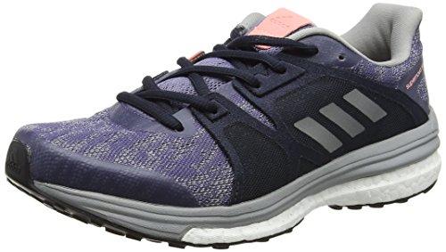 adidas Supernova Sequence 9, Zapatillas de Running para Mujer, Morado (Super Purplesilver Metallicmid Grey), 36 2/3 EU