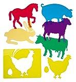 Henbea 153971 - Learning templates of farm animals