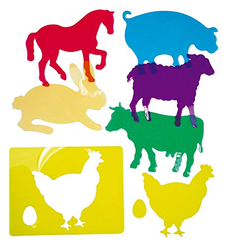 Plantillas de Aprendizaje de Animales de Granja, trasl&uacutecidos (916)