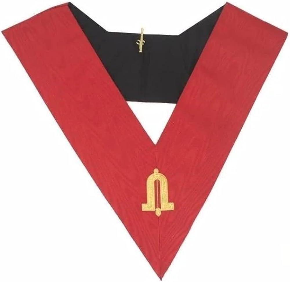 Masonic AASR collar 18th degree - Knight Rose Croix - Junior Warden