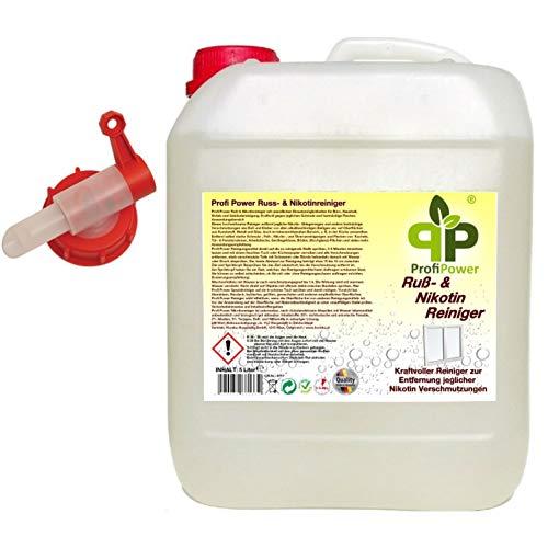 Profi Power Russ- & Nikotinreiniger 5 Liter Kanister + Auslaufhahn