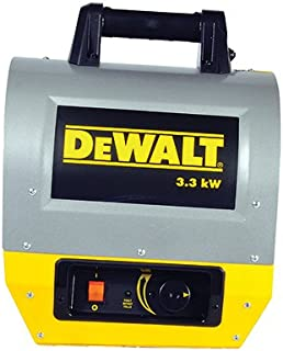 DEWALT DXH330 Forced Air Electric Heater, Yellow