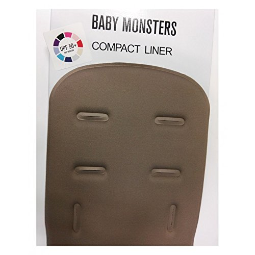 Baby Monsters- Colchoneta Compact - Color Taupe- Danielstore