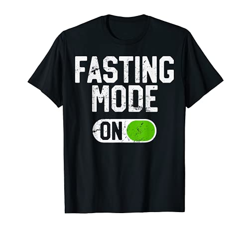 Intermittent Fasting Diet T-Shirt, Fasting Mode On T-Shirt