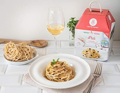 My Cooking Box Pici Toscani con Tartufo e Acciughe per Due Porzioni - 0.55 Kg