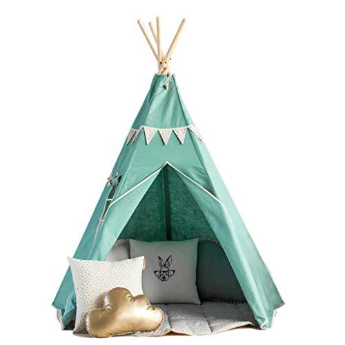 Arts Play Tent, Indoor Arcade Large Cotton Canvas Tent Princess Room Cone Sturdy Birthday Present Children (Size : B150×165cm)