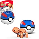 Mega Construx Pokemon Trapinch Figure Building Set with Poke Ball