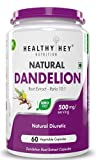 PREMIUM HERBAL: HealthyHey Nutrition Dandelion Root Extract provides 500 mg of Dandelion Root Extract per capsule HEALTH & WELLNESS: Dandelion is traditionally used to stimulate appetite and to increase bile flow NATURAL DIURETIC : Dandelion root ext...