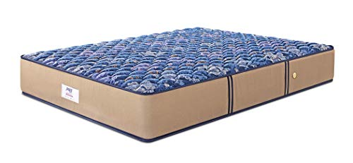 Peps Springkoil Bonnell 6-inch Single Size Spring Mattress (Dark Blue, 72x30x06) with Free Pillow