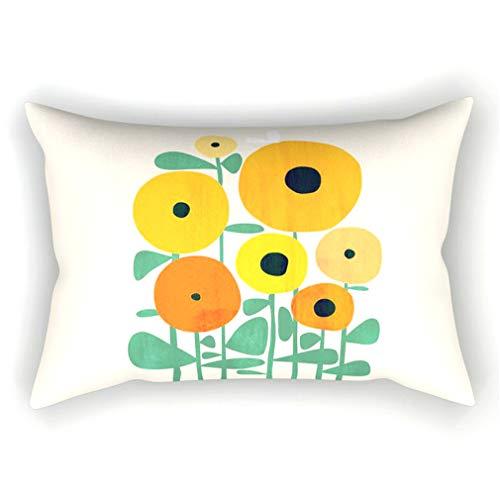 Juego de 2 fundas de cojín rectangulares de 30 x 50 cm, con patrón geométrico elegante para el hogar, cojines decorativos para sala de estar, dormitorio, sofá, sofá