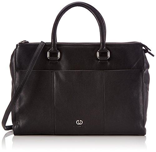 Gerry Weber Damen Piacenza Business Shopper, Schwarz (black 900), 38x28x14 cm