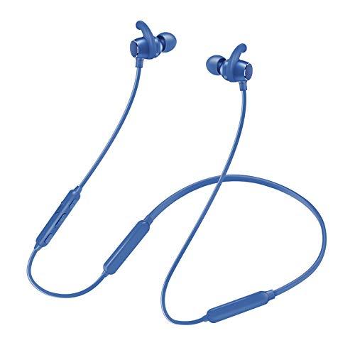ARONTOME Auriculares Bluetooth inalámbricos deportivos IPX5 resistentes al agua HD estéreo, auriculares inalámbricos en la oreja con micrófono con cancelación de ruido para correr, trotar, gimnasio