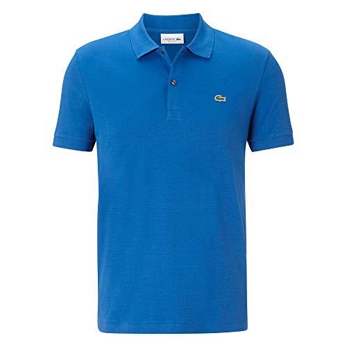Lacoste Herren DH2050 Polo Shirt Kurzarm, Polo-Shirt Tshirt T-Shirt Oberteil Tennis Golf Freizeit klassisch sportlich elegant,Electric (Z7Z),XS (2)