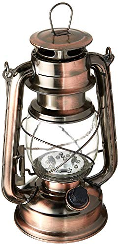 WeatherRite 5572 15 LED Number-5572 Outdoor Traditional Look Lantern with efficient LED lighting, Copper, One Size