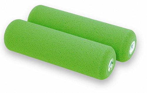 Yachtcare Foam Roller 2er Schaumverschlichtungsrollen, grün, 100 mm