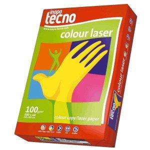 Inapa Kopierpapier tecno colour laser A4 100g/qm weiß VE=500 Blatt
