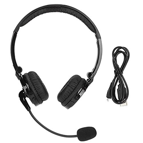 Auriculares Con Cancelación De Ruido Con Micrófono, Auriculares Inalámbricos Bluetooth Para Colocar En La Oreja, Manos Libres, Tapones Para Los Oídos Plegables Y Tiempo De Espera Prolongado, Para Llam
