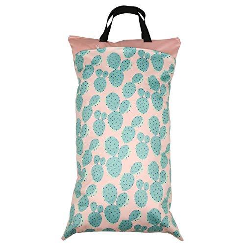 Wickeltasche, nie verblassen Sauber halten und schmutzige Windeln separat Babytasche(EF225)