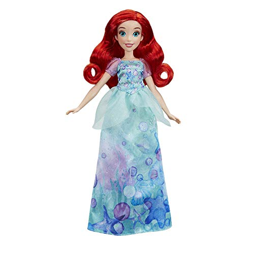 Hasbro Disney Prinzessin E0271ES2 Schimmerglanz Arielle, Puppe