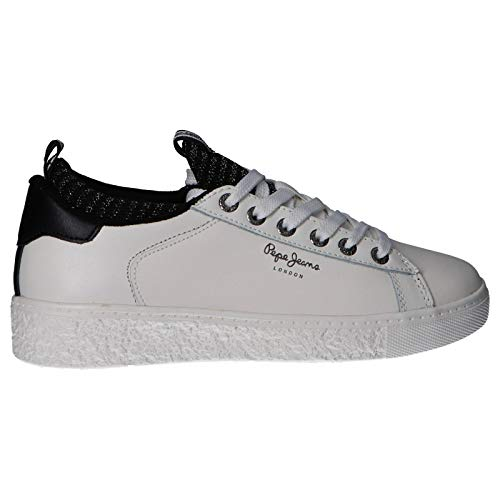 Pepe Jeans TURNSCHUHS PLS30780 Roxy Sock 800WHITE 37 Weiß