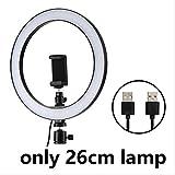 LED Selfie Ring Light 12w 5500k Photo Studio Photographie Photo Fill...