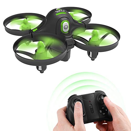 Dwi Dowellin Mini Drone Crash Proof for Kids Beginners Auto Hovering One Key Spin...