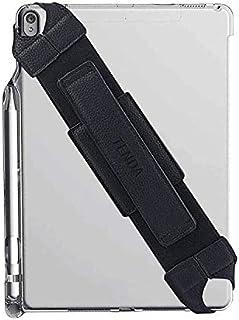 TENDAタブレットハンドルホルダー ハンドストラップ PC安全ハンドストラップ 360度回転機能 弾性バンド長さ調整可能 傷つけ防止 持ち心地 7インチから12インチ (9-10インチ)