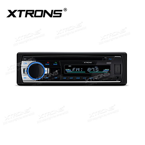 XTRONS autoradio Single Din autoradio audio-ontvanger DAB+ RDS AUX-IN ondersteunt FM/USB/SD-kaart Bluetooth 5.0 1Din apparaat voor auto