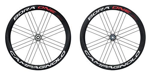 Campagnolo Unisex– Erwachsene Bora One 50 Db Laufräder, schwarz, Einheitsgröße