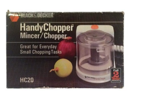 BLACK AND DECKER FOOD CHOPPER,MINCE…