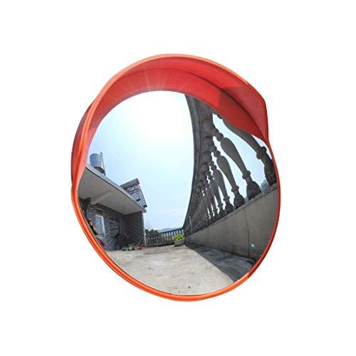Espejo de Seguridad, instalaciones de Transporte Espejo de Punto Ciego del automóvil Fácil de Instalar Lente Gran Angular antioxidante Espejo Convexo Duradero para Exteriores (tamaño: 120 cm