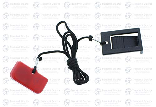Treadmill Doctor Square Safety Key for Xterra TR 3.0 Part Number N100003-A5