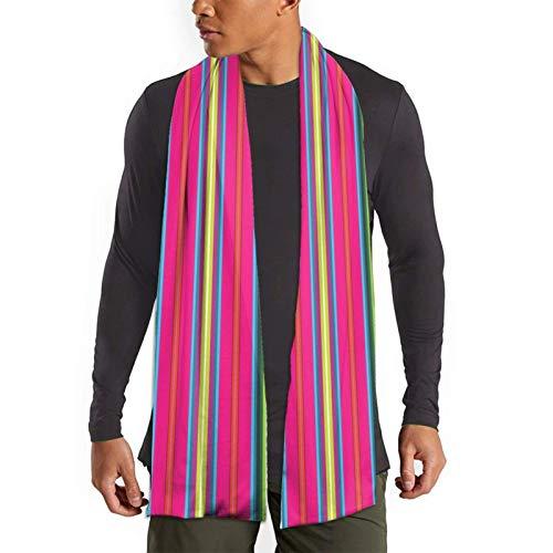 JONINOT Andean Textile Uno Ultraweiche, leichte Unisex-Schals Größe 70,5 Zoll x 11,8 Warme Winterschals
