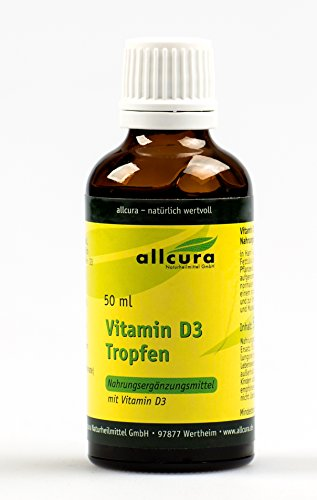 Allcura - Vitamin D3-Tropfen (50 ml)