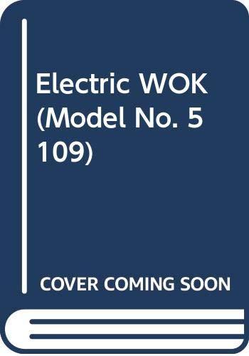Electric WOK (Model No. 5109)
