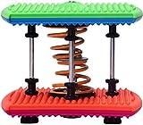 JCCOZ-URG Elliptique Machine Cross Trainer Double Corps de Ressort Dance Machine Yoga Danse aérobie Twist Run avec Stepper - Home Gym Tonique entraînement Fitness Body Trainer Machine d'exercice