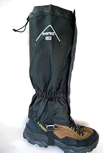 everest1953 Gaiter Guêtres étanche Outdoor Long Noir extrêmement Robuste Taille S jusqu'à m * Nouveau *