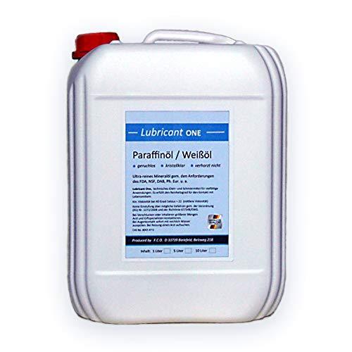 Paraffinum Liquidum (5 Liter) Paraffinöl, med. Qualität (Ph.Eur.), hochreines Universalöl