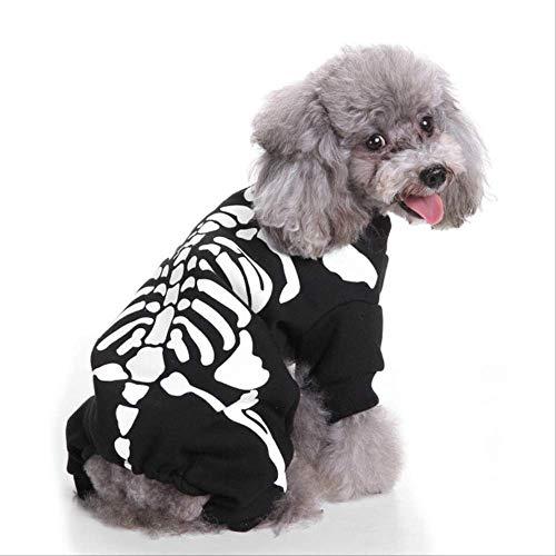JBPX Halloween Hond Kostuum Zachte Kat Puppy Kerst Kleding Wizard Paus Kerstman Dressing Up pak Huisdieren Grappige Party Kostuum, XL