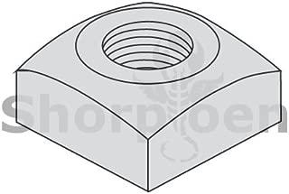 3//8-16 Grade 2 Square Nuts Plain 100