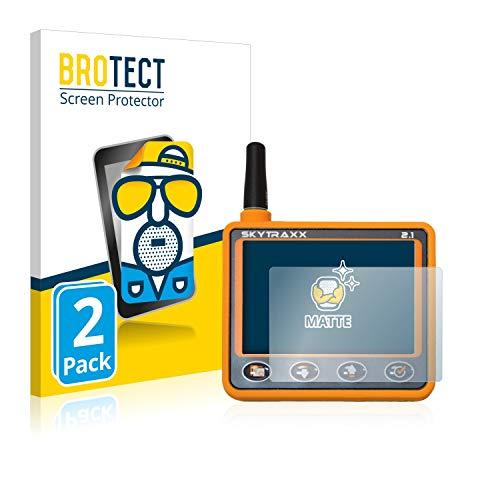 BROTECT 2X Entspiegelungs-Schutzfolie kompatibel mit Skytraxx 2.1 Vario Displayschutz-Folie Matt, Anti-Reflex, Anti-Fingerprint