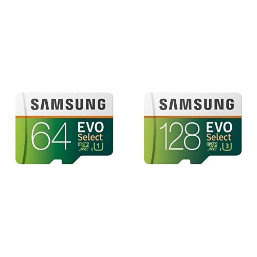 Samsung EVO Select 64 GB + 128 GB...