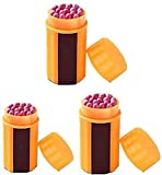 CMLLING Camping Matches,Windproof Waterproof Matches,Portable Extra-Large Head Windproof Waterproof for Outdoor Survival Emergency Survival Equipment Hiking Camping (3 Pack)