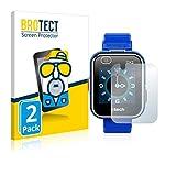 BROTECT Protector Pantalla Anti-Reflejos Compatible con Vtech Kidizoom Smart Watch DX2 (2 Unidades) Película Mate Anti-Huellas