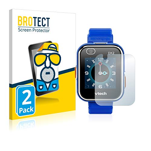 BROTECT Protector Pantalla Anti-Reflejos Compatible con Vtech Kidizoom Smart Watch DX2 (2 Unidades) Pelicula Mate Anti-Huellas