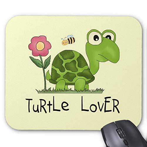 Turtle Lover T-Shirt und Geschenke Mauspad, 45,7 x 55,9 cm