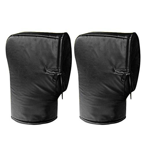 Luckycyc Handlebar Gloves, Waterproof Motorcycle...